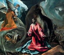 """""""Agonía en el jardín"""" El Greco"""