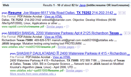 sourcing  u0026 recruiting blog  challenging google resume search assumptions