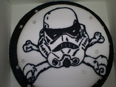 Star Wars Birthday Cake - Storm Trooper Cake