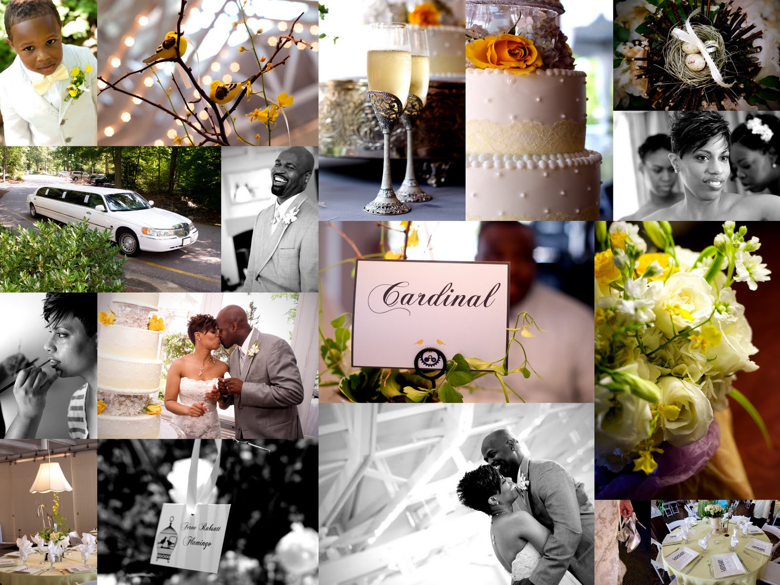 Ivory Themed Wedding