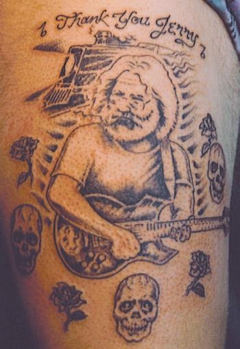 Grateful Dead Tattoos: GD Tattoo # 40 For a real good time