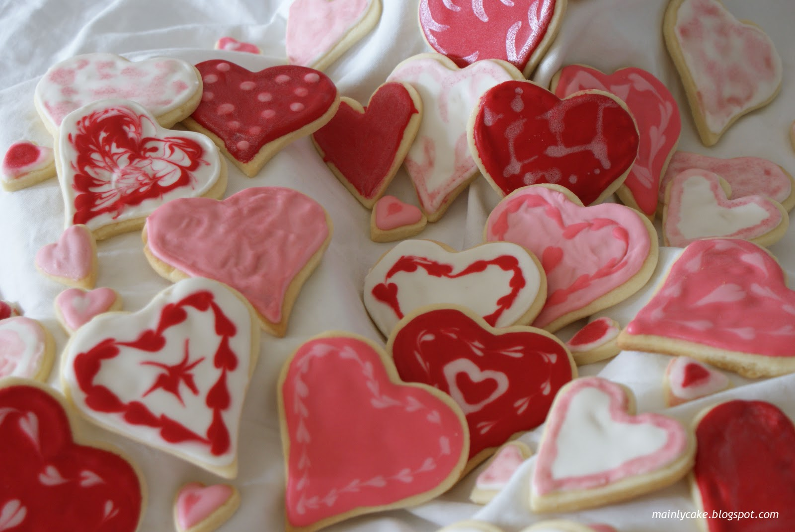 mainly cake decorated sugar cookies