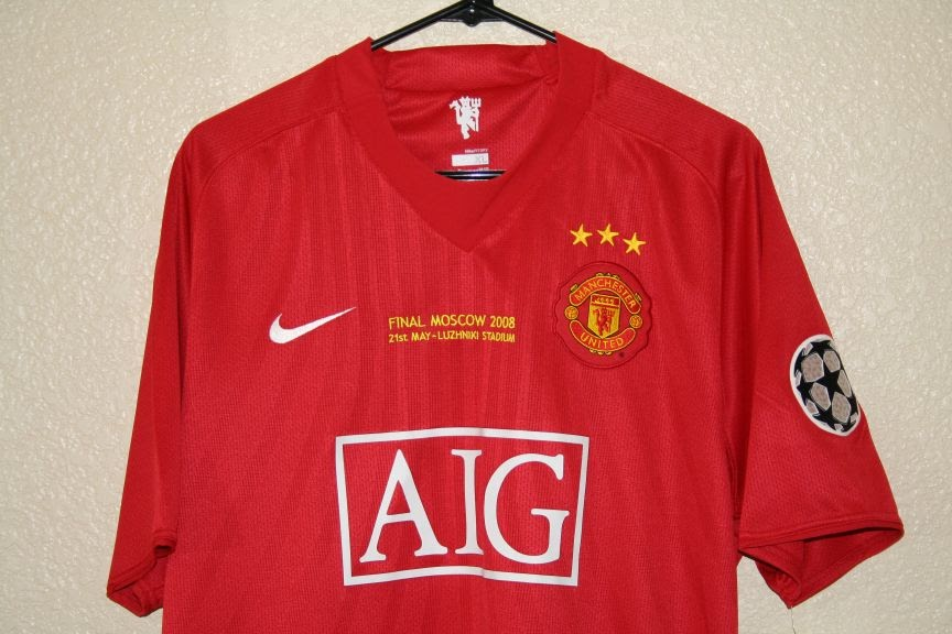 034126bc270 The Football Kit Room  Manchester United Limited Edition  3 Stars ...