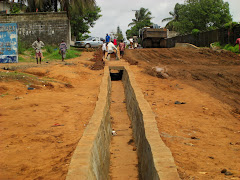 Ongoing Urban Works at Soniwein, Monrovia