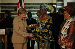 Chancellor of the Federal Republic of Germany visits in Monrovia
