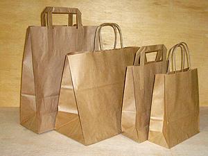 Billige brune papirsposer