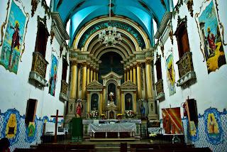 Interior da igreja.