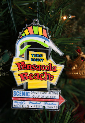 pensacola beach christmas ornament - Beach Christmas Ornaments