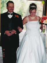 My Dad walking me down the isle
