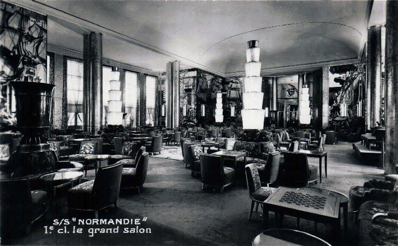 Chambre Luxe Normandie : Maîtres du Vent – MDV: Emménagements du paquebot Normandie