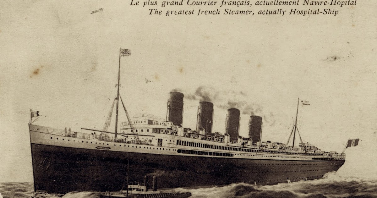 adhemar  paquebot france  1912