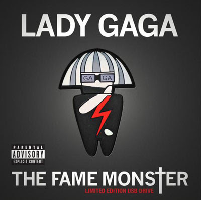 lady gaga fame monster album cover. lady gaga fame monster album