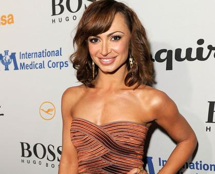 brad penny and karina smirnoff. Karina revealed that Brad