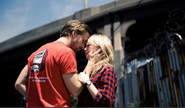 Ryan Gosling y Michelle Williams en Blue Valentine