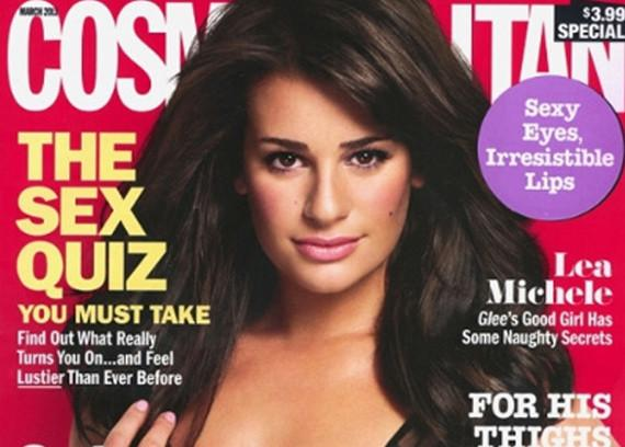 lea michele cosmopolitan article. Meanwhile, Lea is set for solo