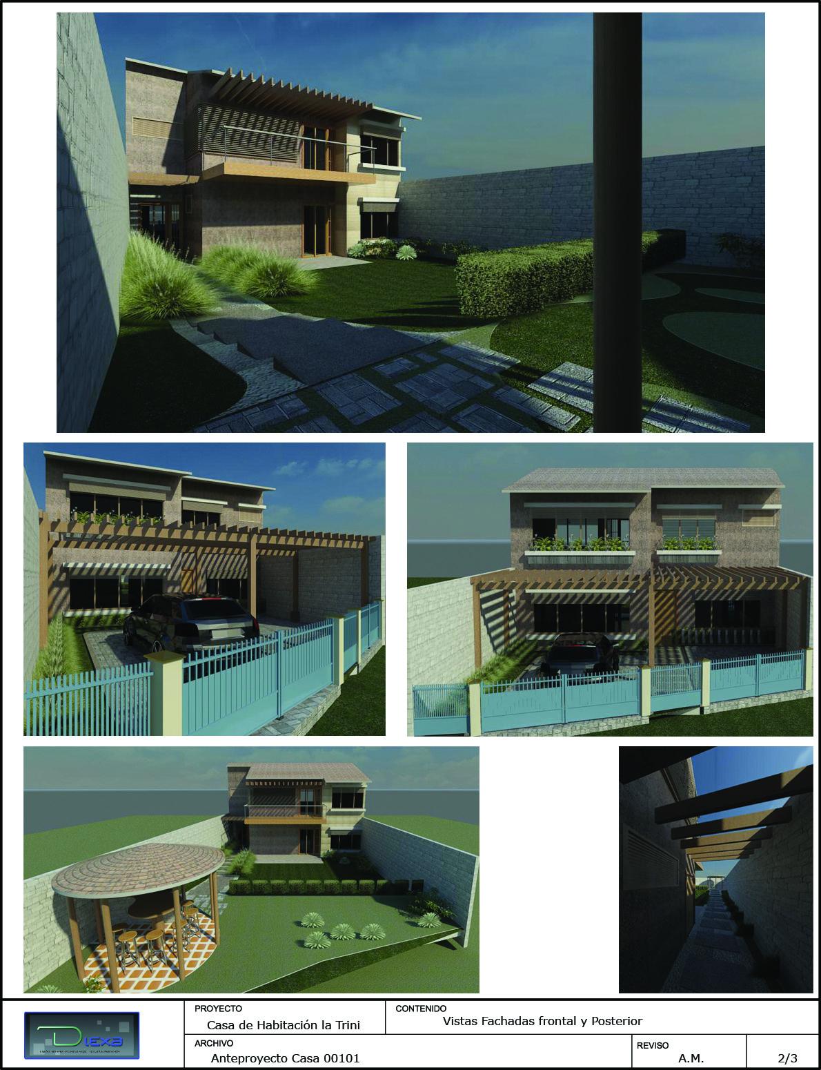 Dise o interno externo arquitectura e ingenier a dise o for Diseno de casa habitacion