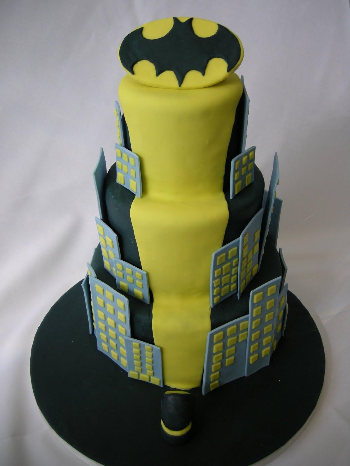 Gallery For Batman Wedding Cake