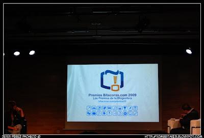 Presentación Premios 2009 Bitacoras.com
