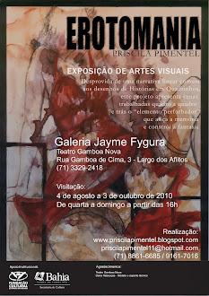 CARTAZ: Erotomania no Teatro Gamboa Nova