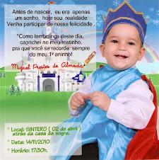 Miguel 1º aninho
