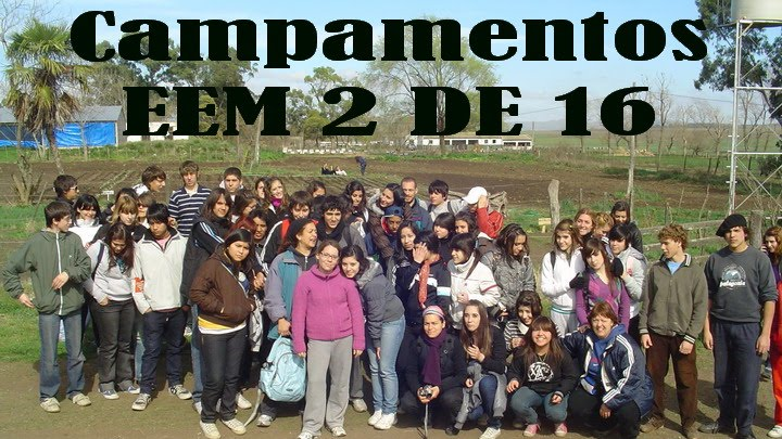 Campamento EEM 2 DE 16