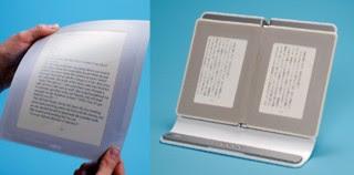 E-papier jest rozwijany i elastyczny