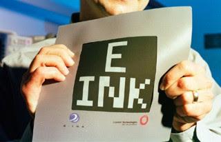 E-ink, czyli elektroniczny tusz