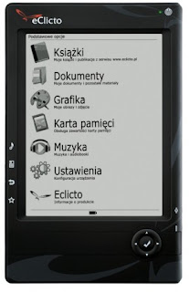 Poski czytnik ebooków - eClicto