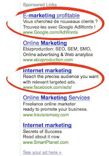 keywords internet marketing
