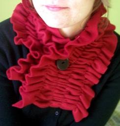 Idea de regalo hecho a mano -economico- Una bufanda, sin tejer!