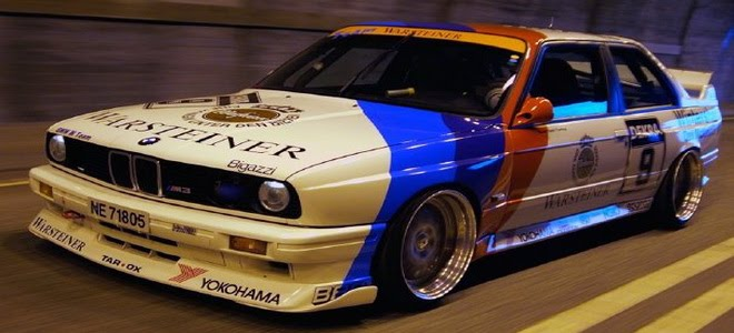 Bmw M3 E30 Tuning. BMW E30 325I with tuning parts