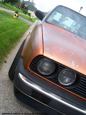 BMW E30 dirty