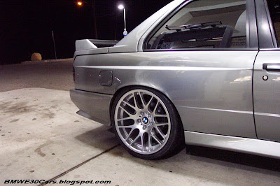 E30 M3 with E46 M3 Wheels