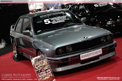 E30 325i with E30 M3 look
