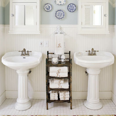 Lar da Carol: Banheiro com individualidade para o casal