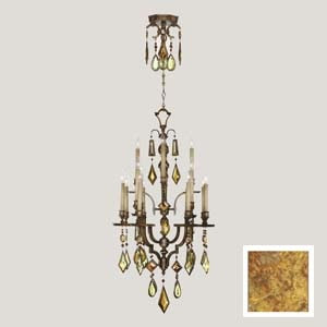 colored crystal chandelier 2008-r-e-l1 - Chandeliers | Crystal