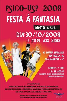 Festa a Fantasia 2008 – Psico-USP