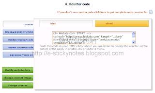 Histats 計數器程式碼