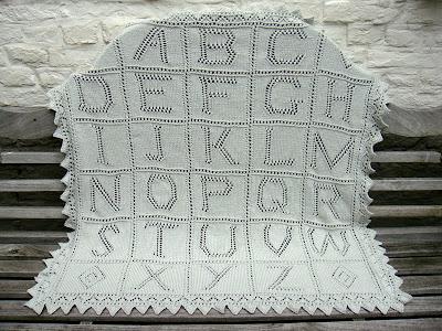 Baby Blanket Knitting Patterns Debbie Bliss : DEBBIE BLISS ALPHABET BABY BLANKET PATTERN Sewing Patterns for Baby