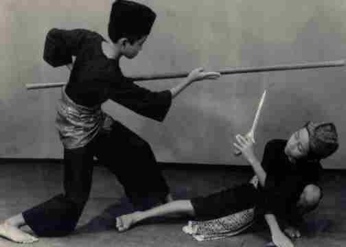 12. pencak silat, indonesia