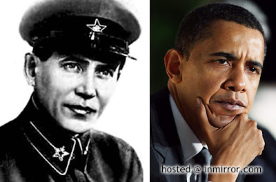 Nikolai Yezhov and Barack Hussein Obama