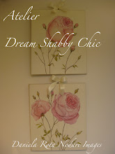 "Atelier "" Dream Shabby Chic""  Dipinti con le rose"