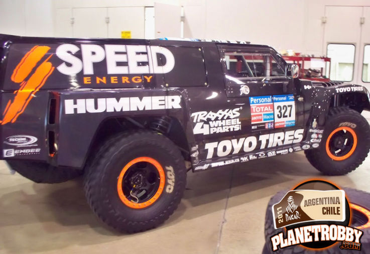 Dakar 2011 Hummer 327