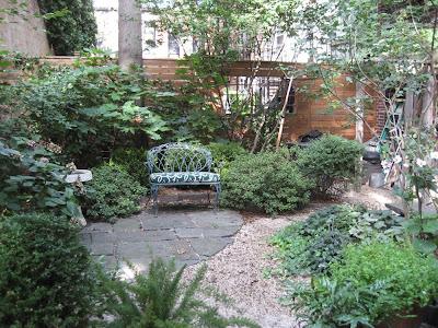 City Beautiful Carpentry Brooklyn Heights Backyard Garden
