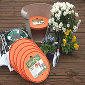 Ups-A-Daisy container gardening inserts