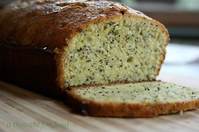 Recipe: Lemon Poppy Seed Pound Cake - A Thought For Food