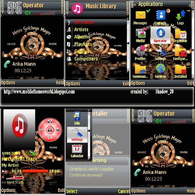 MGM theme for s60v3 by The Shadow