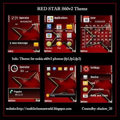 star by shadow_20 s60v2 theme