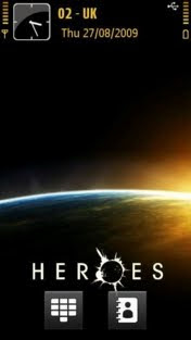 Heroes by Olek21 symbian 5th theme
