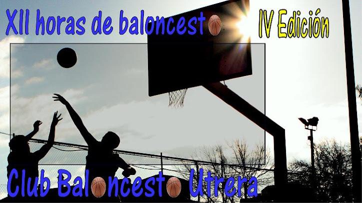 XII horas de Baloncesto Utrera